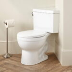 Origin Modern Corner Toilet