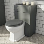 Traditional Back to Wall Toilet