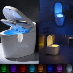 Automatic Activated Color Toilet