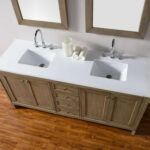 Bathroom Decoration with Double Vanity