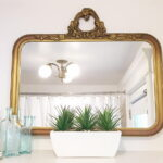 Bathroom Gold Mirrors Framed