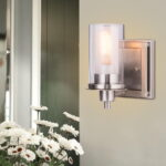 Bathroom Light Brushed Nickel