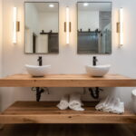 Bathroom Vanity Top Setup
