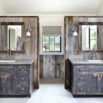Beautiful Country Style Bathroom Vanity
