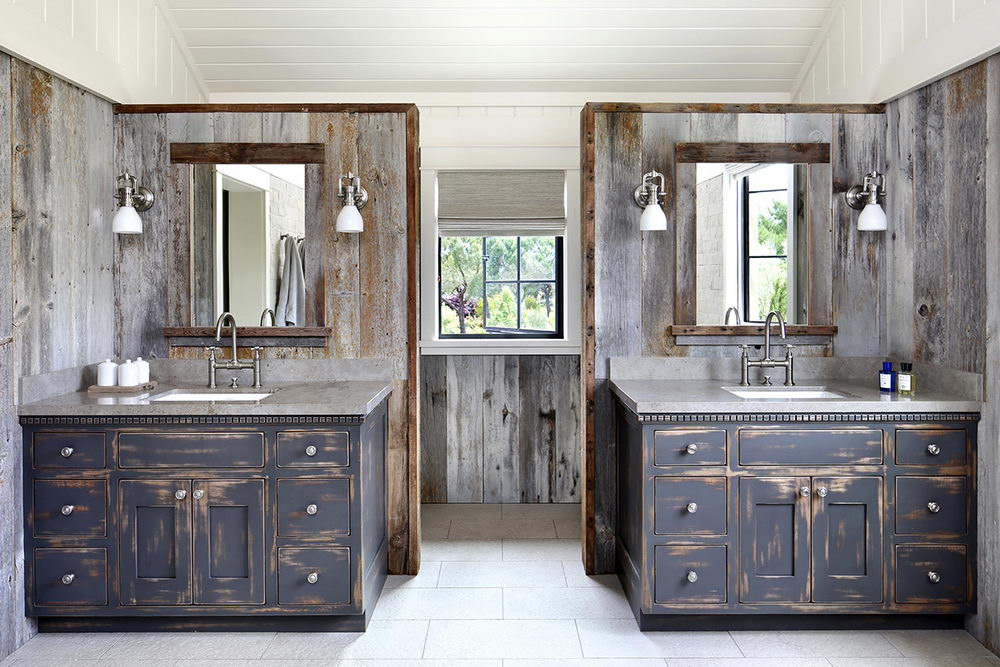 Beautiful Country Style Bathroom Vanity