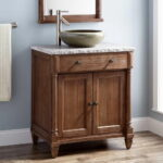 Country Bathroom Vanity with Sink