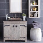 Country Style Bathroom Vanity Decor