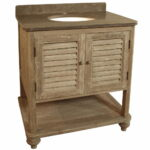 Country Wood Vanity