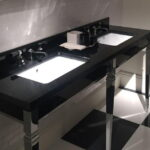 Double Black Top Vanity