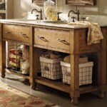 Double Country Vanities for Bathrooms
