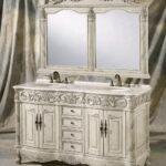 Double Sink Bathroom Country Vanity
