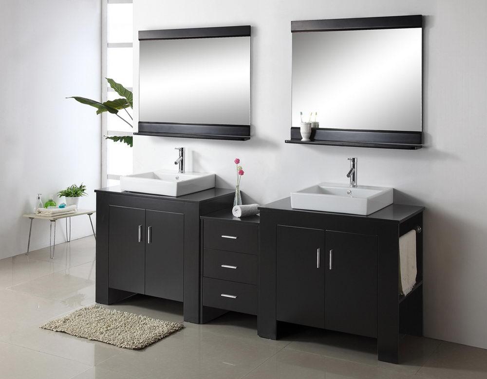 Double Sink Bathroom Vanity Units