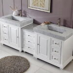 Elegant Double Top Vanity