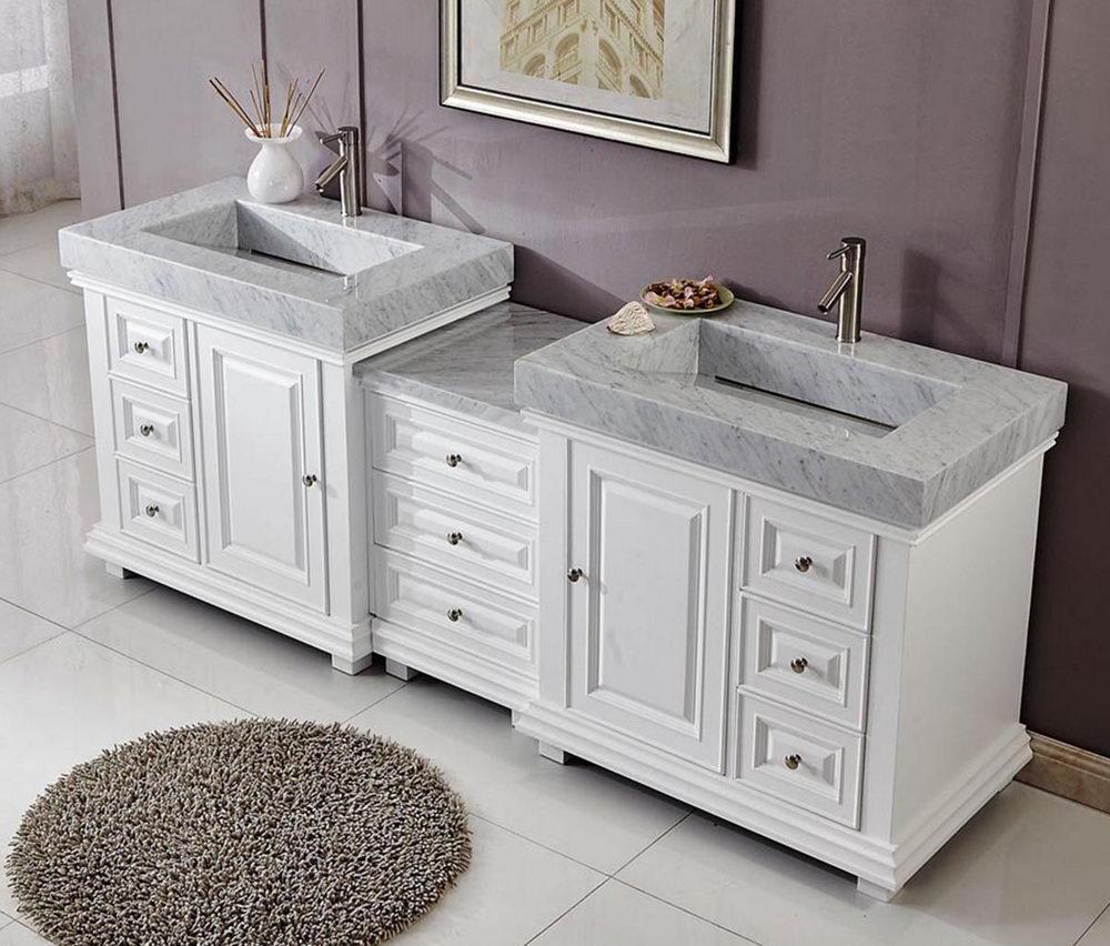 Elegant Double Top Vanity