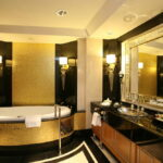 Expensive Gold Bathroom