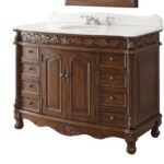 French Country Style Bath Vanity Designed