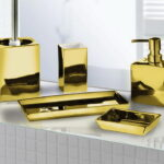 Glamour Gold Bath Accessories