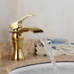 Gold Bathroom Sink Faucet