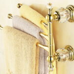 Gold Bathroom Towel Bar
