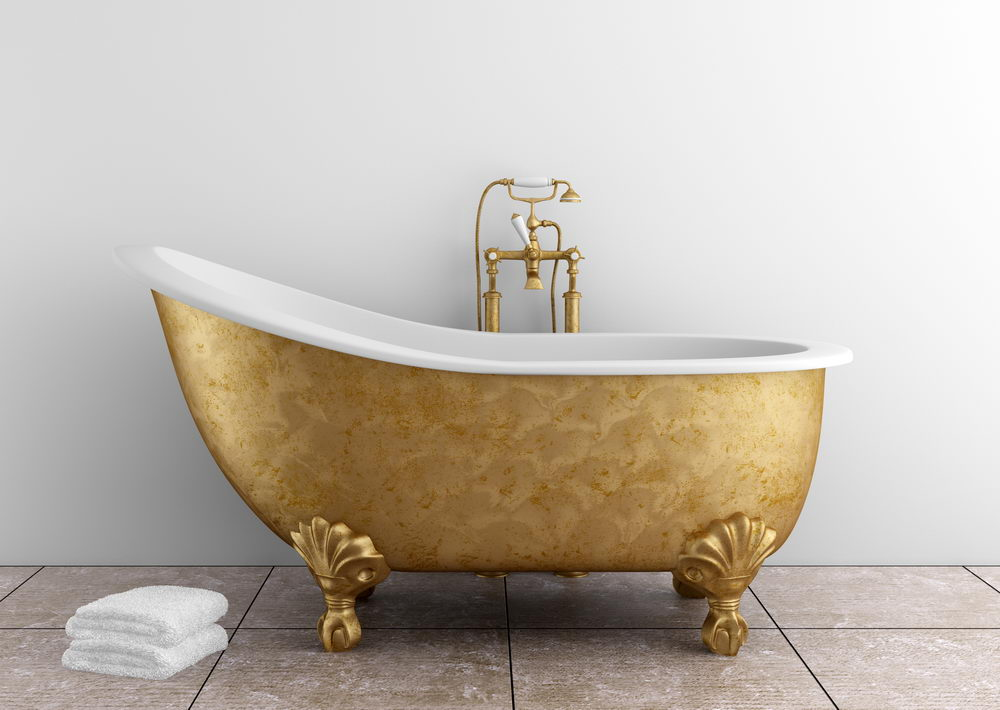 Gold Bathtub