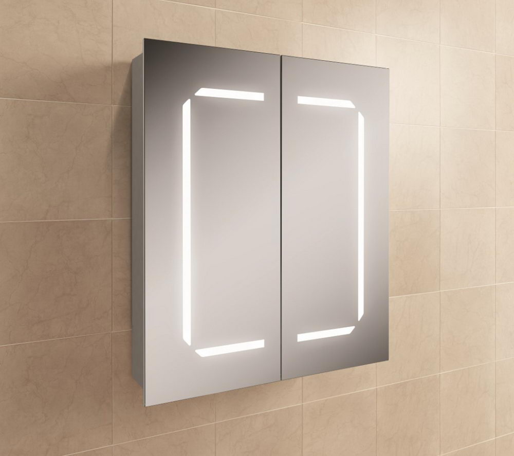 LED Cabinet with Mirrored