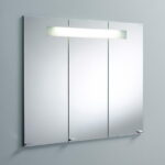 Mirror Cabinet with Horizontal Light