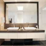 Modern Bathroom Double Vanities