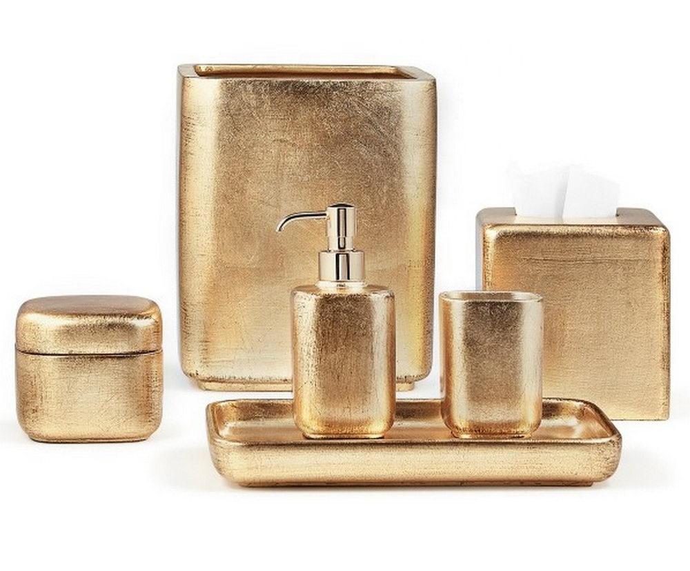 Give Your Bathroom A Royal Look With Gold Bathroom Accessories Decorideasbathroom Com Best Bath Ideas
