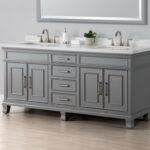 Two Sink Vanity Bathroom