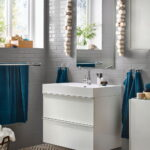 Closed Storage for a Stylish Bathroom