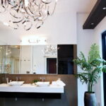Modern Bathroom Chandeliers Ideas