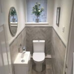 Narrow Toilet Interior